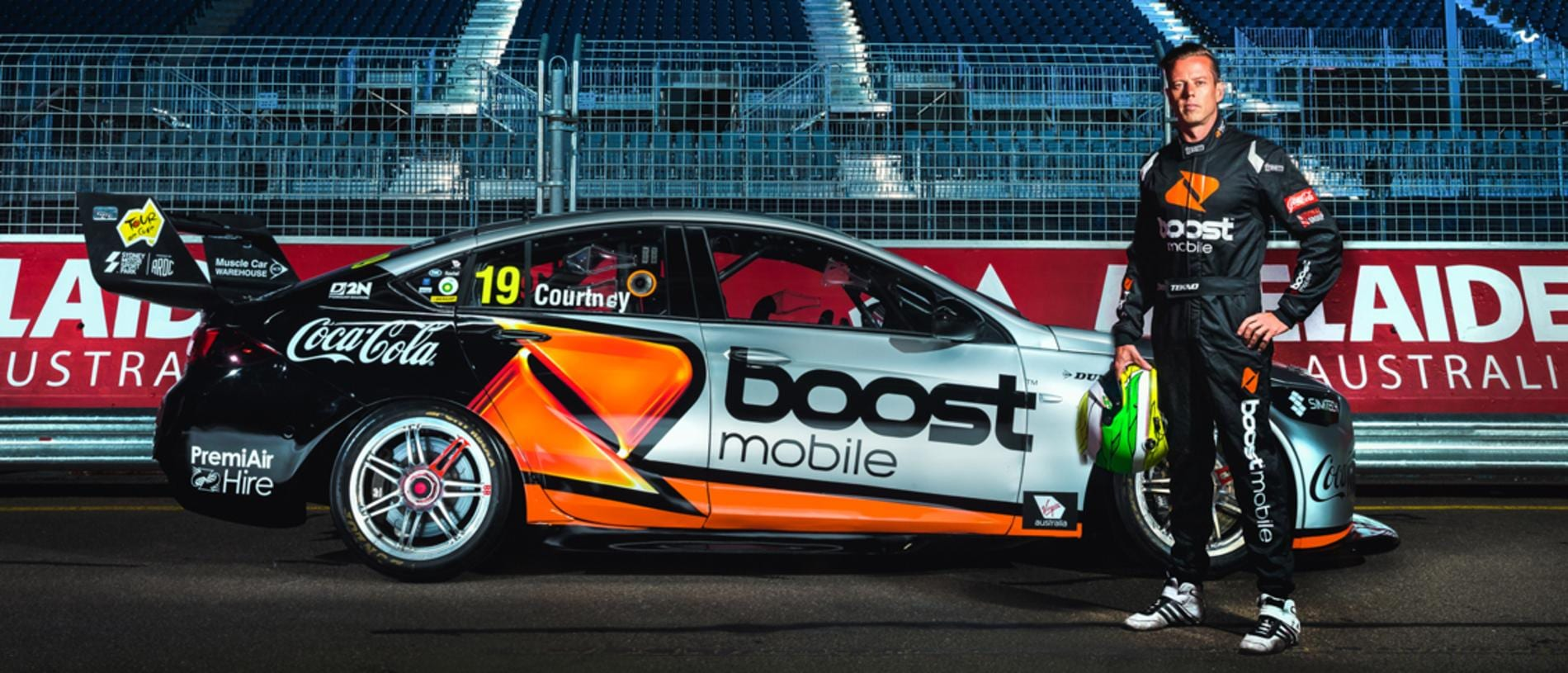 Could James Courtney and Boost return for Erebus? Pic: Daniel Kalisz