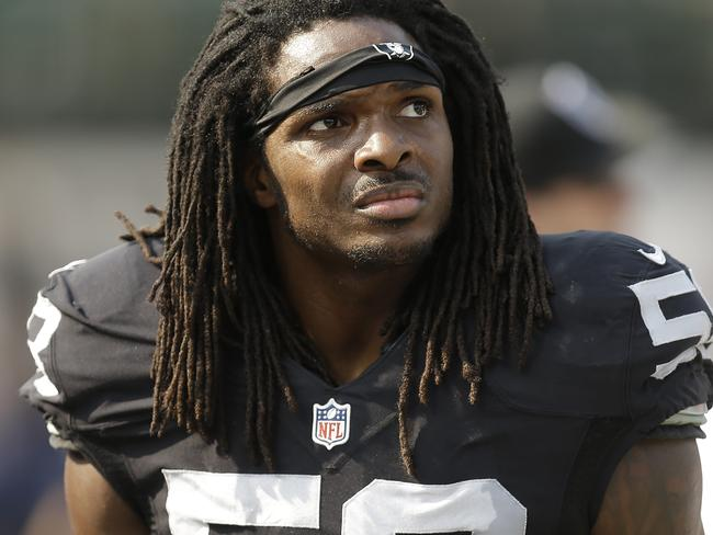 Oakland Raiders outside linebacker Neiron Ball.