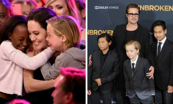 Angelina Jolie ordered to give Brad Pitt more time with their kids