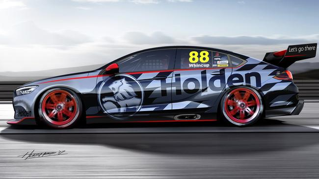 Supercars 2018 Holden Commodore Revealed Photos