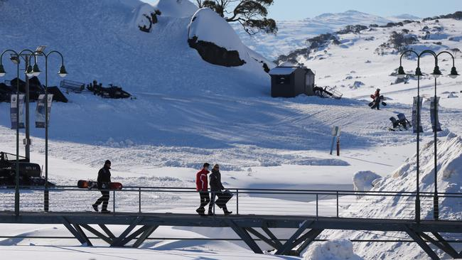Perisher ... the largest ski resort in the southern hemisphere has been sold to a US company. Picture: News Corp Australia