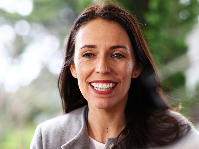 Jacinda Ardern moved quickly to change New Zealand's gun laws after the mosque massacres. Picture: Hannah Peters/Getty Images