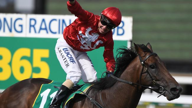 Stephen Baster has some good chances late in the day at Sandown Hillside. Picture: AAP