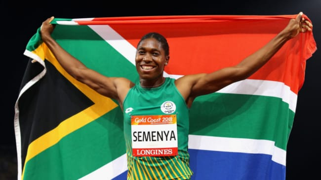 The South African athlete refuses to take testosterone-reducing medication. Source: Getty Images