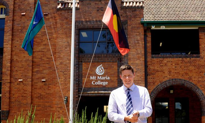 Mt Maria is welcoming its new principal Glenn McConville for next year. Picture: Peter Cronin