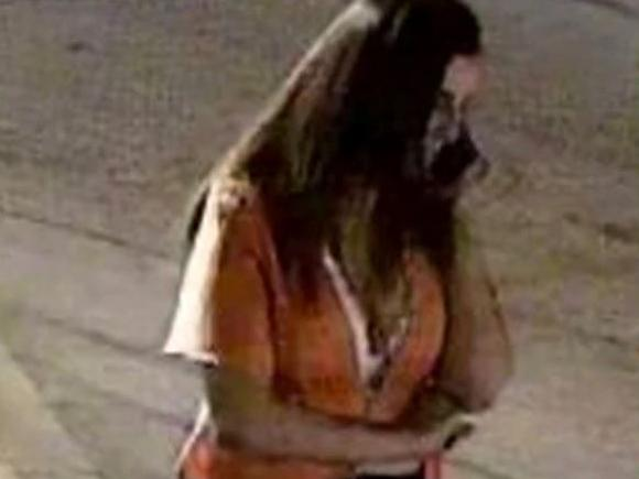 Samantha Josephson on CCTV before her disappearance. Picture: Columbia Police Department