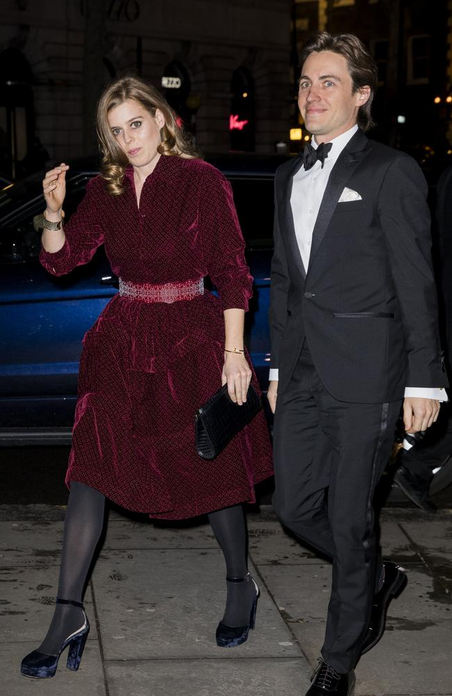 Things are getting serious for Princess Beatrice and Edoardo Mapelli Mozzi. Picture: Getty