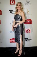 Bonnie Sveen arrives on the red carpet at the 59th annual TV Week Logie Awards on April 23, 2017 at the Crown Casino in Melbourne, Australia. Picture: Getty