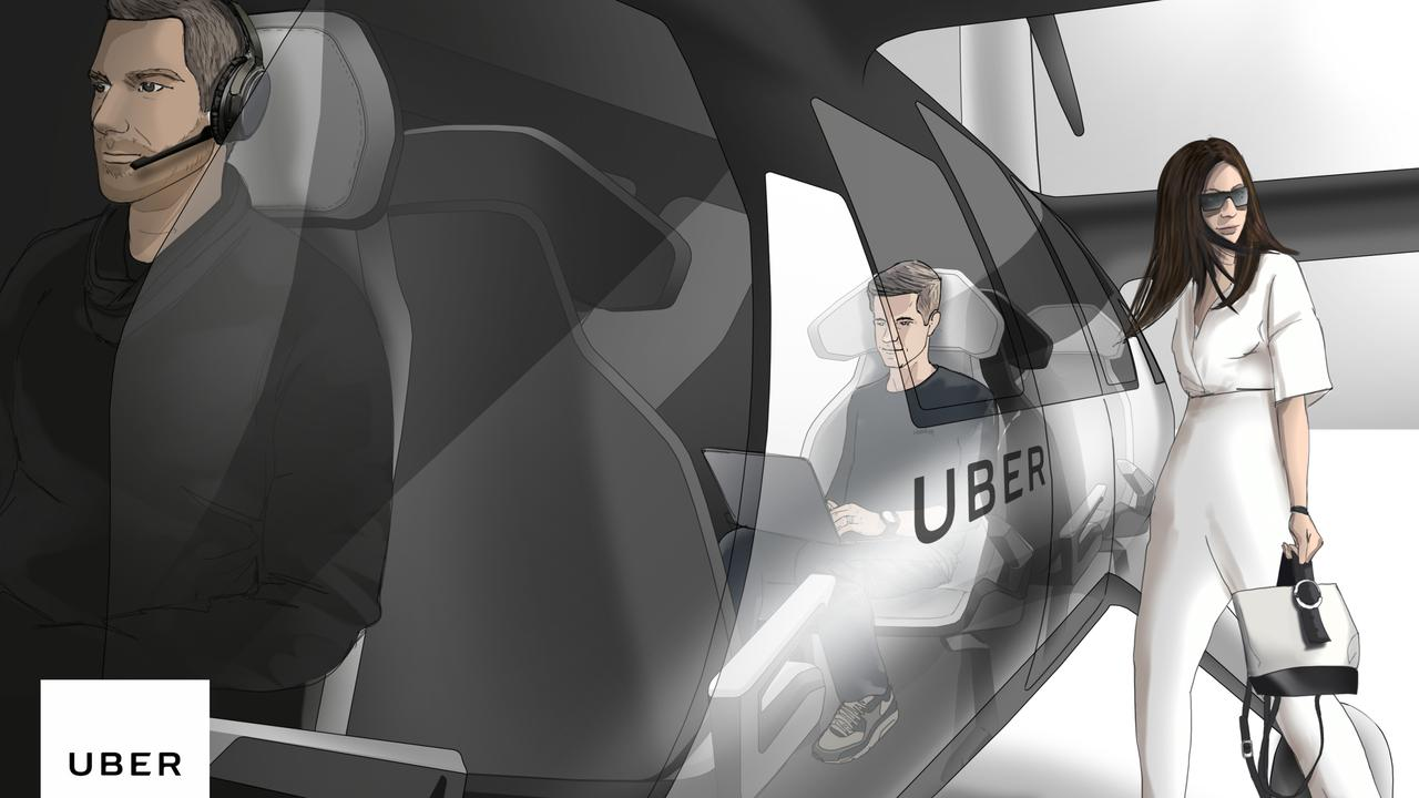 UberAIR vehicles would be piloted at first, with the long-term aim for the aircraft to fly autonomously.