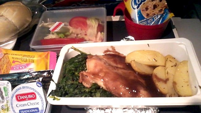 Quantity over quality? Picture: AirlineMeals.net
