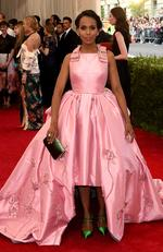 "Kerry Washington attends the Met Gala 2015 ""China: Through The Looking Glass"". Picture: Getty"