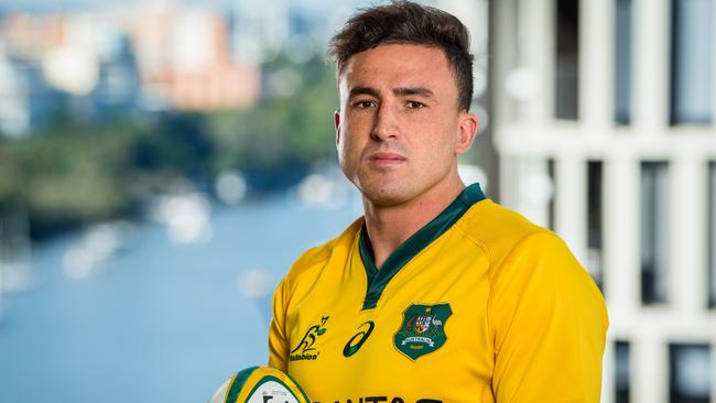 Tom Banks is pushing hard to play his first Wallabies Test.