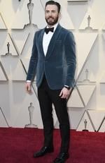 Chris Evans attends the 91st Annual Academy Awards at Hollywood and Highland on February 24, 2019 in Hollywood, California. (Photo by Frazer Harrison/Getty Images)