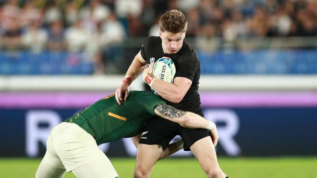 Beauden Barrett switched to fullback and still starred for New Zealand. Picture: Getty Images