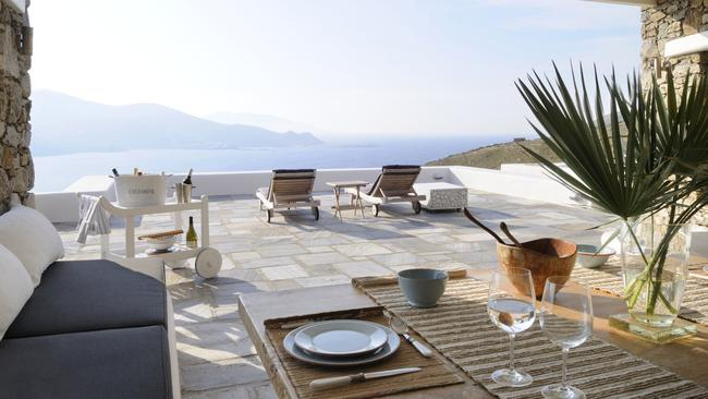 That's a view you'd never tire of. Picture: RE/MAX Way Mykonos.