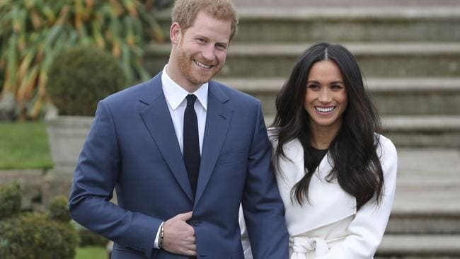 Britain's Prince Harry and his fiancee US actor Meghan Markle are preparing for their wedding next month. Picture: AFP