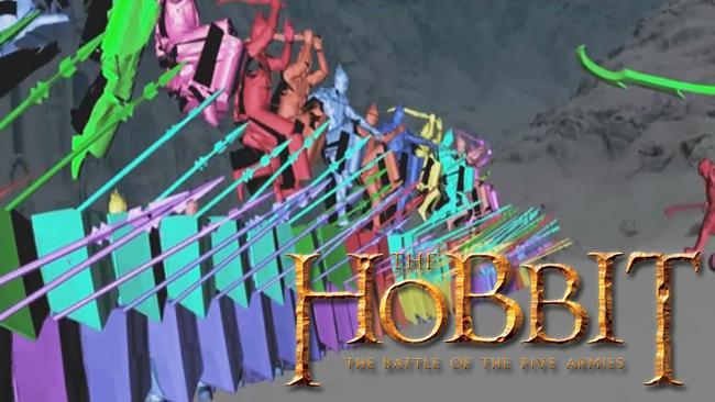 See how the graphics of 'The Hobbit' come to life on the big screen