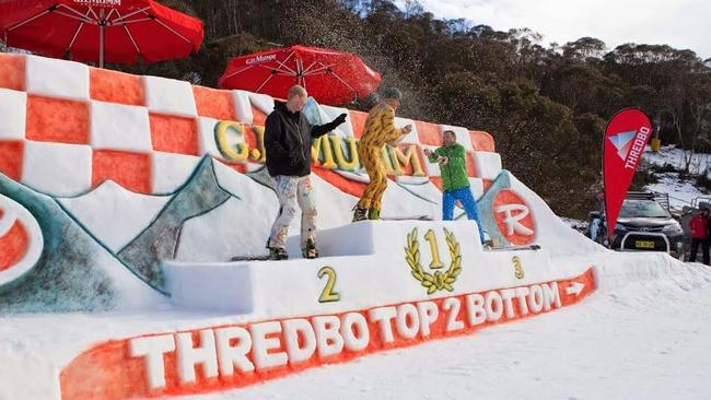 There'll be G.H. Mumm champagne powder in Thredbo this weekend, guaranteed.