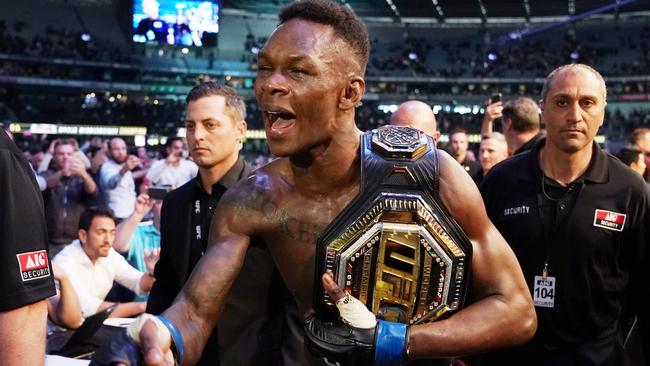 UFC 253: Kiwi superstar Israel Adesanya has the gift of the gab to match his talent