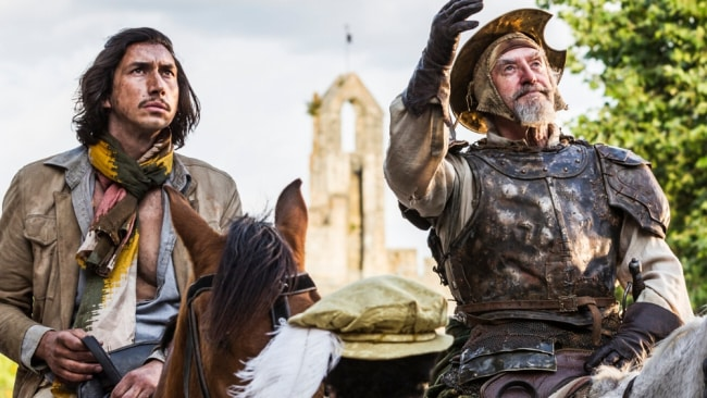 Adam Driver in 'The Man Who Killed Don Quixote'. Image: Supplied