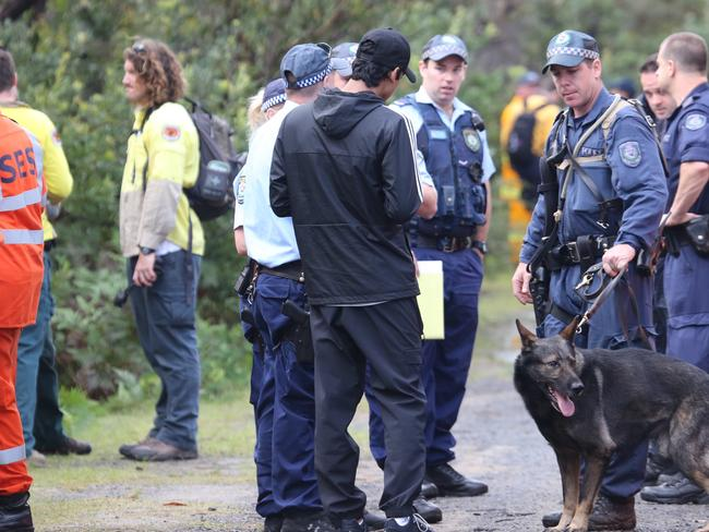 Initial inquiries led police to believe the 19-year-old woman became separated from her partner during a bushwalk. Picture: John Grainger