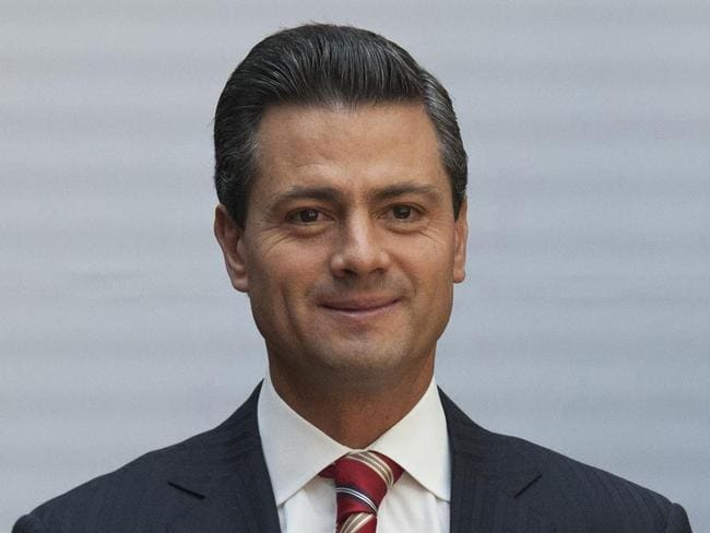 Enrique Pena Nieto has previously denied taking bribes. Picture: AP Photo/Alexandre Meneghini