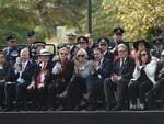 Premier Steven Marshall attends the Anzac Day memorial parade in Adelaide. Picture: Tricia Watkinson