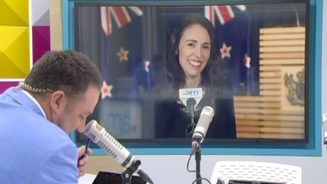 Jacinda Ardern's cheeky sledge to Alan Jones (The AM Show)