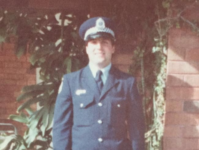 Sergeant Richard Whittaker who died on duty with Brisbane Water Local Area Command in 1991. Picture: Supplied