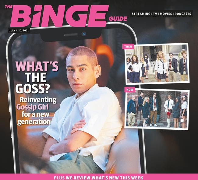 Get your copy of the Binge Guide today in News Corp papers.