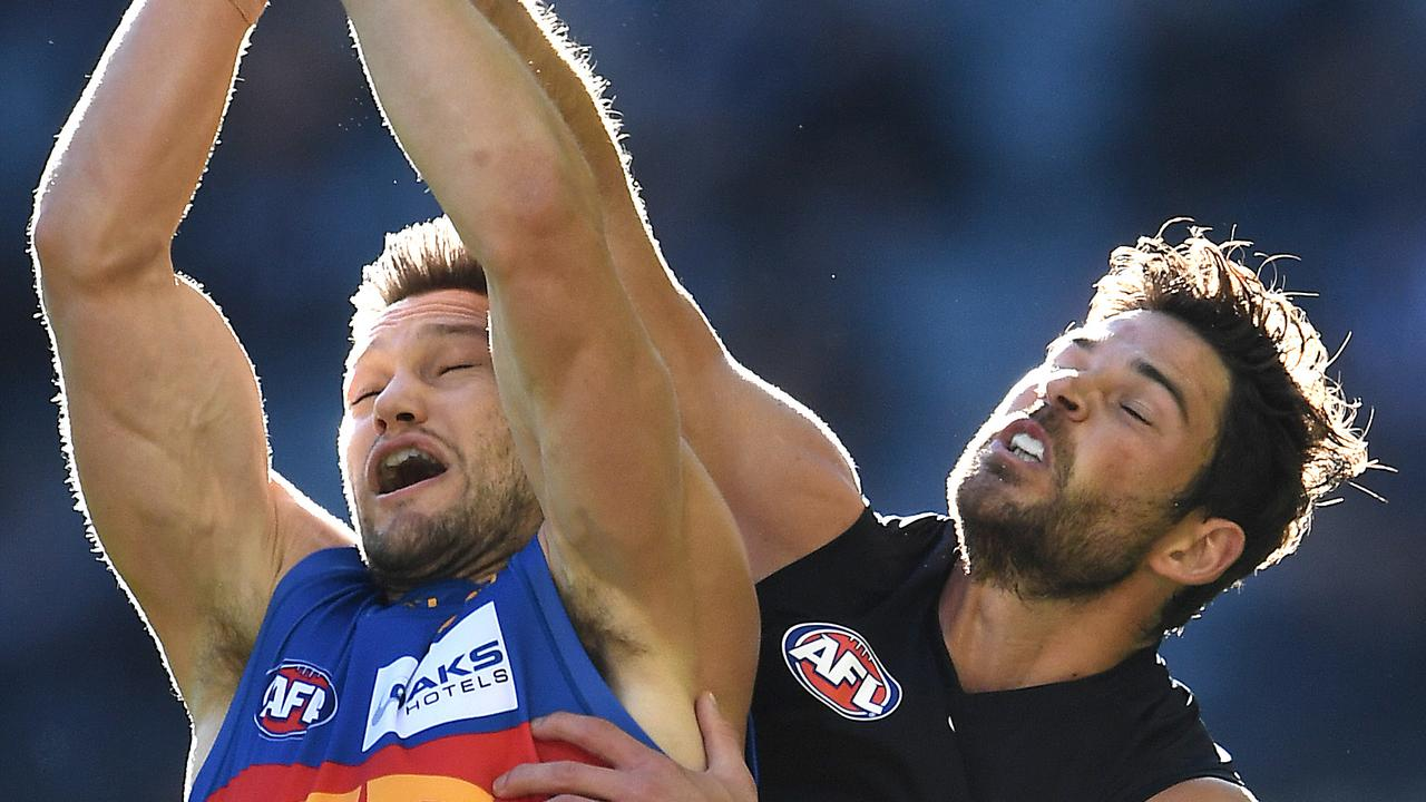 Levi Casboult (right) has looked comfortable as a defender. Photo: Quinn Rooney/Getty Images