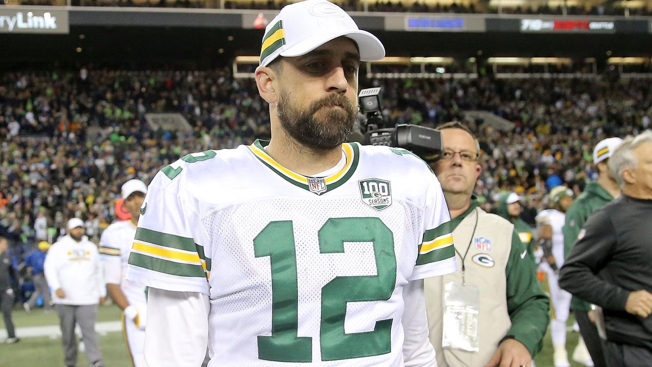 Aaron Rodgers clarified his comments. Abbie Parr/Getty Images/AFP