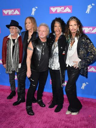Aerosmith. Picture: AFP