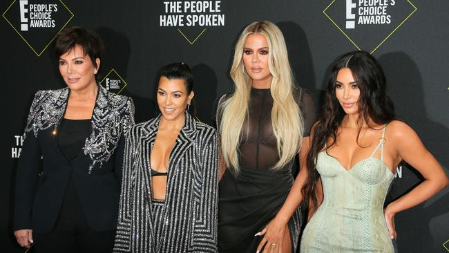 Keeping Up with the Kardashians will finish up in 2021. Picture: AFP