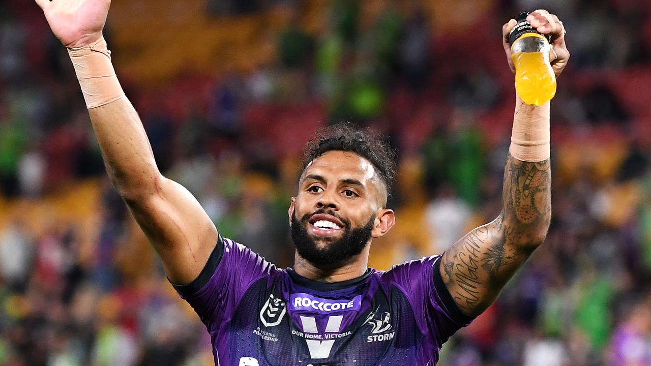NRL Preliminary Final - Storm v Raiders