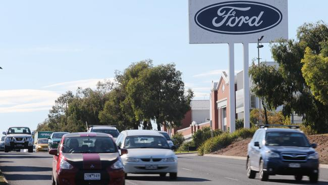 Ford's manufacturing plant in Geelong. Picture: David Crosling/AAP