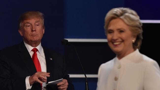 Donald Trump and Hillary Clinton. Picture: AFP/Paul J Richards