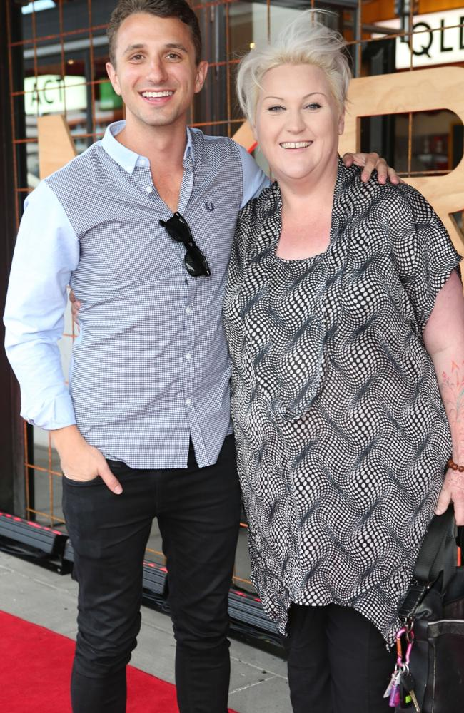 Tommy Little and Meshel Laurie.
