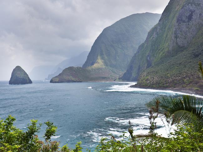Kalaupapa on the Hawaiian Island of Molokai.