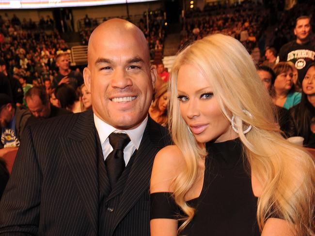 Tito Ortiz and Jenna Jameson. (Photo by Jason Merritt/Getty Images)