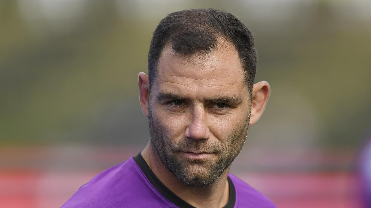 Cameron Smith can get his message across with a look.