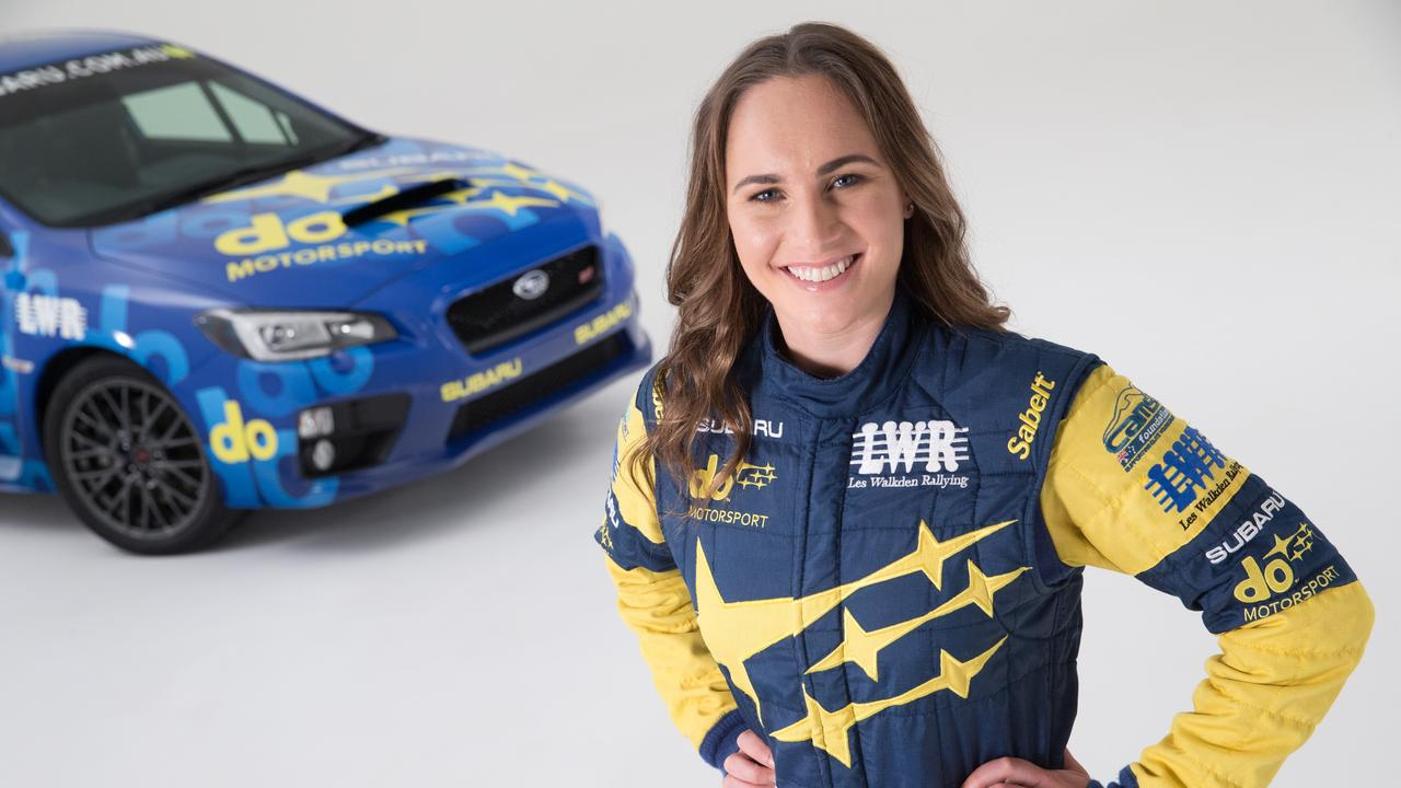 Molly Taylor, the 2016 Australian rally champion, is in the hunt again this year.
