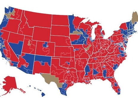 How Americans voted in the midterm elections.