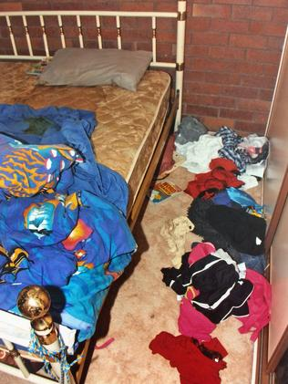 Investigators noticed a strong stench of urine in the house. Picture: AAP Image/Brisbane Supreme Court