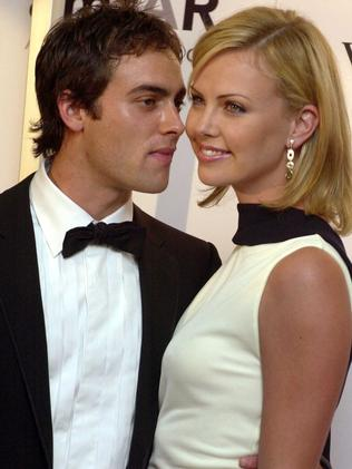 Charlize Theron dated Stuart Townsend for a decade. Picture: AP