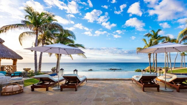 The view fro the villa. Photo: One & Only Palmilla
