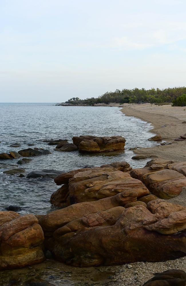 Beaches on Groote Eylandt.