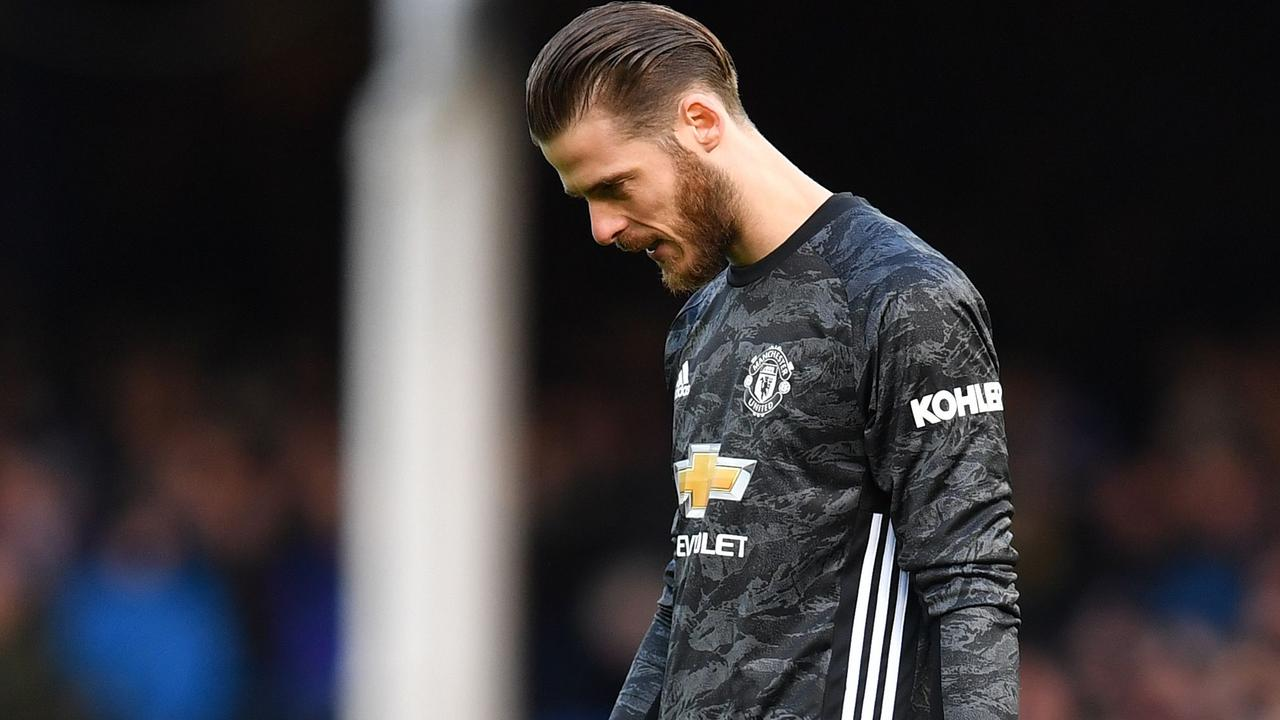 David De Gea was at fault again for Manchester United.