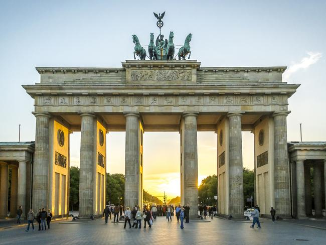 In 1961, the famous Brandenburg Gate was shut to prevent people escaping the country.