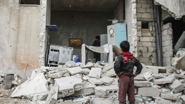 Syria's civil war has been raging for almost eight years. Picture: AFP